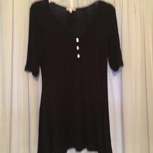 Tops - Zana outfitters black cotton tunic size M